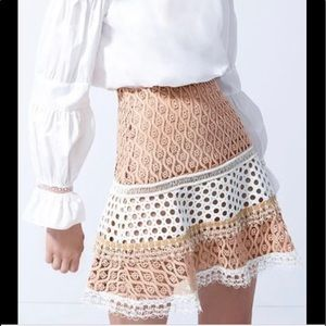 Alexis lace skirt. Size XS. New without tag.